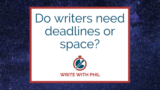 Do writers need deadlines or space header
