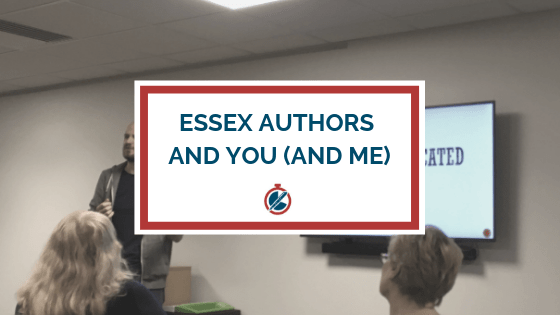 Header image for Essex Authors and You and Me post