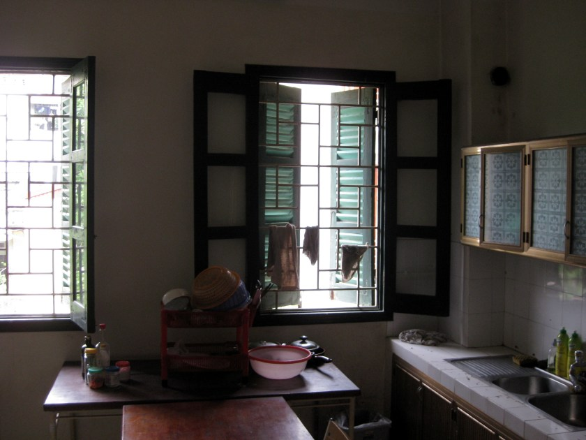 Community Kitchen in the International Teacher's Dorm