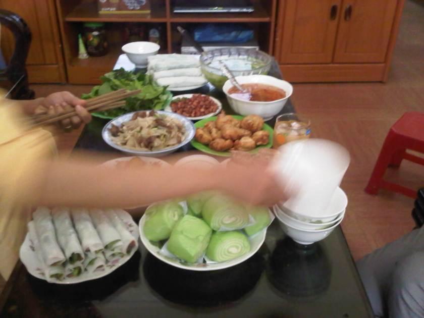 Food at Hương's