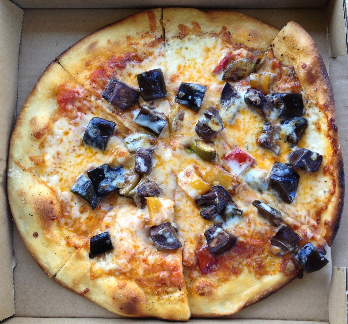 Roasted Vegetables Pizza