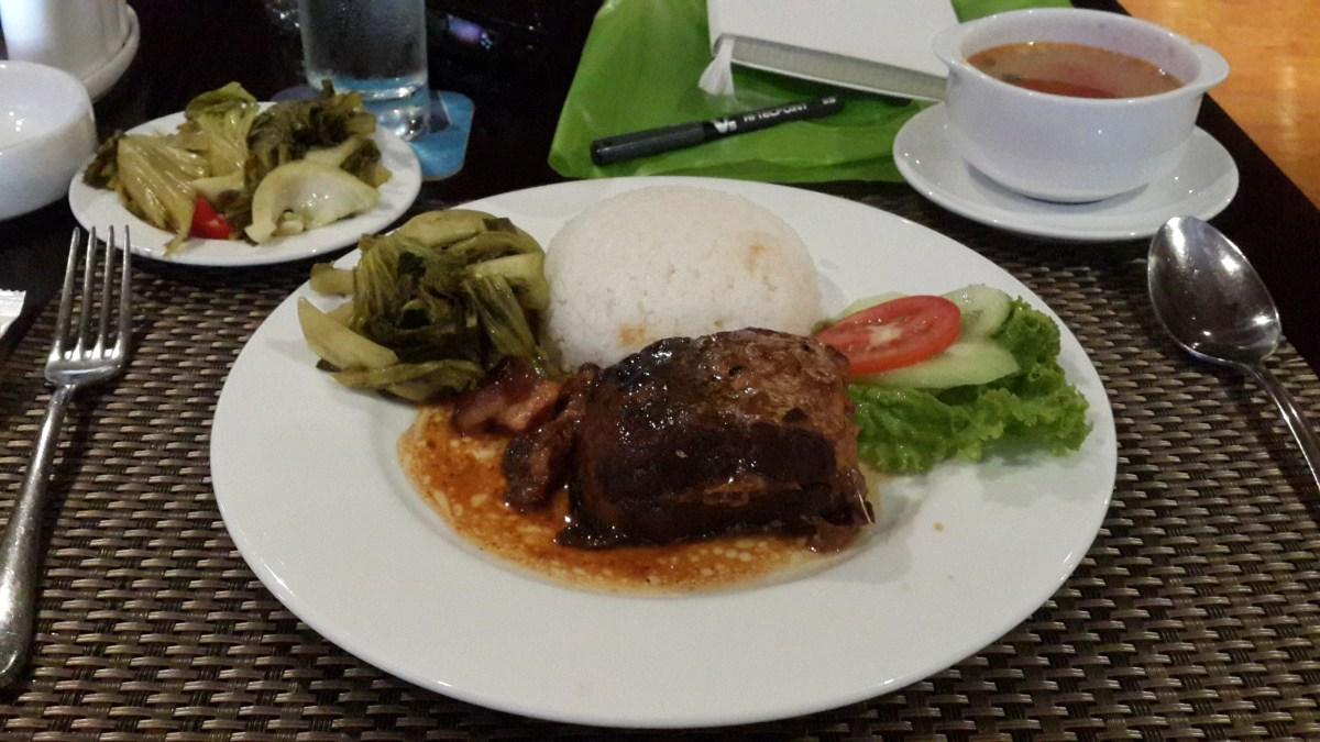 Fish, Rice, Veggies