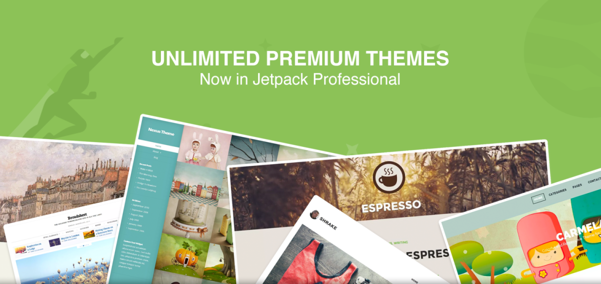 Unlimited Premium Themes Now in Jetpack