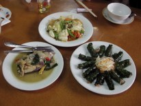 Meal at Ông Táo in Huế