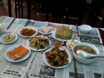 Tết meal at home in Hanoi