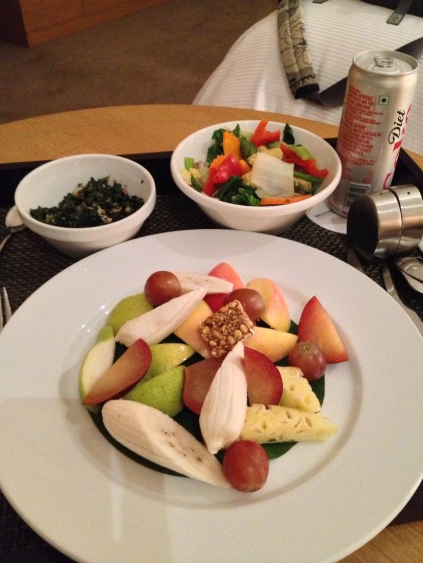 Mixed Fruit and Steamed Vegetables