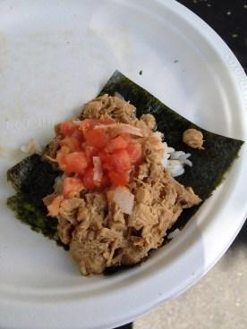 Korean Taco w/Chicken from Namu Street Food