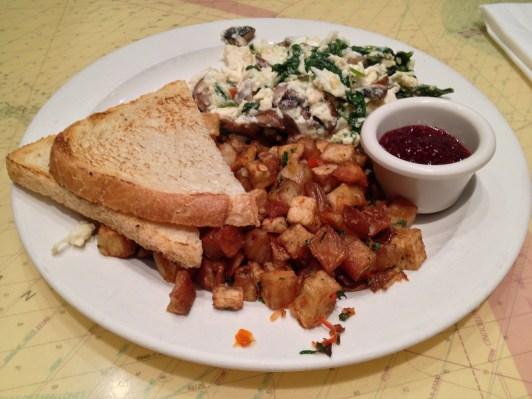 Egg White Tofu Scramble