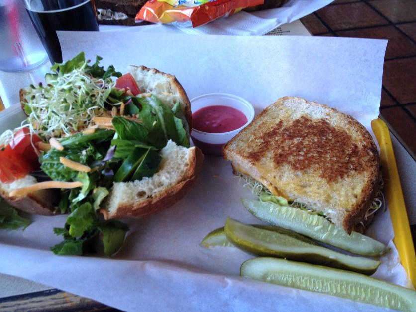 Smoked Turkey Sandwich w/Side Salad