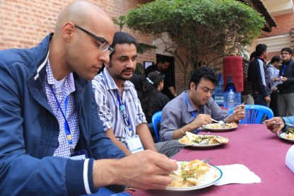 WordCamp Nepal 2013 Lunch