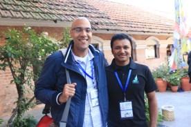 Philip Arthur Moore and Chandra Maharzan