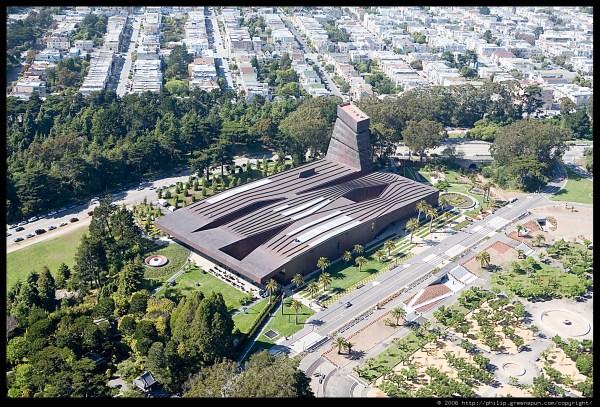 De Young Museum Golden Gate Park San Francisco