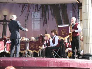 Philip soloing with Basingstoke Concert Band, Eastbourne, May 2008