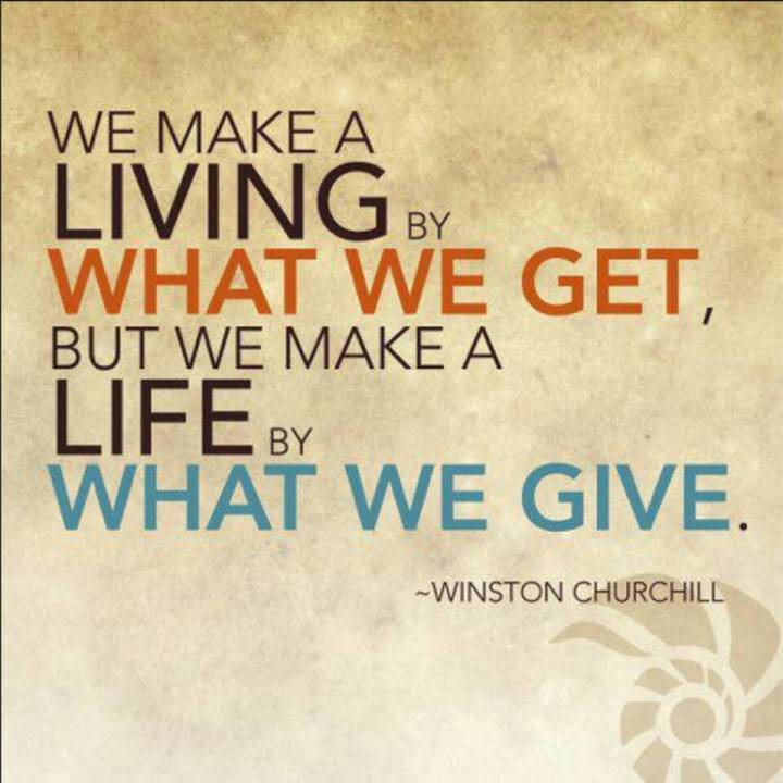 Giving Is the Best Communication