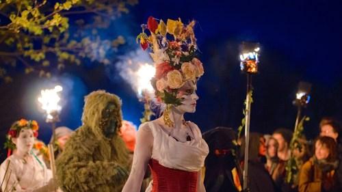 The May Queen - Edinburgh Beltane Festival