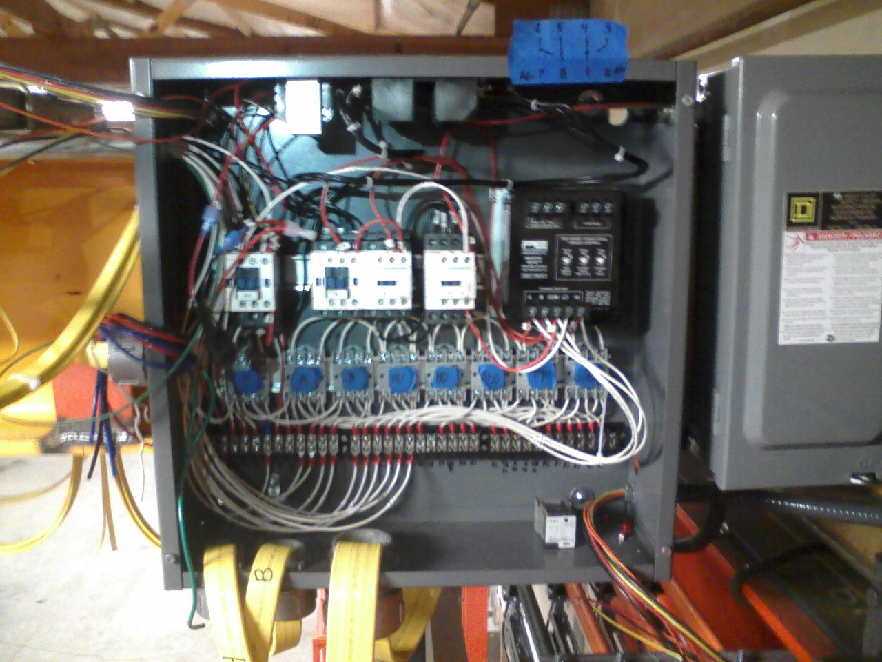 hight resolution of a custom overhead crane controllerwhat i did i started with an empty control