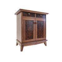 Walnut Nightstand - Philip Morley Furniture