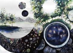 20. Philippa Jones, 'universal equation solver', Pen, ink and watercolour, 2012