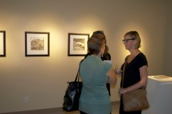 Nature Present at the Rotary Arts Centre, Corner Brook, NL, opening reception