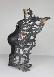 série Belisama - Le geste de Molpadia 3 Sculpteur Philippe Buil
