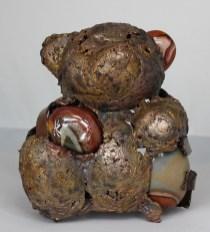 série Buffon - Ours Sans sûr 1 Sculpteur Philippe Buil