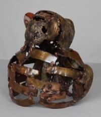 série Buffon - Ours Sans sûr 3 Sculpteur Philippe Buil