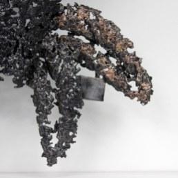 Belisama nature cabaret - Sculpture Philippe Buil - Buste de fem