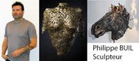 Philippe Buil sculpteur : Sculpture en dentelles de métal acier bronze laiton contemporainPhilippe Buil sculptor: Sculpture in contemporary metal steel bronze brass lace