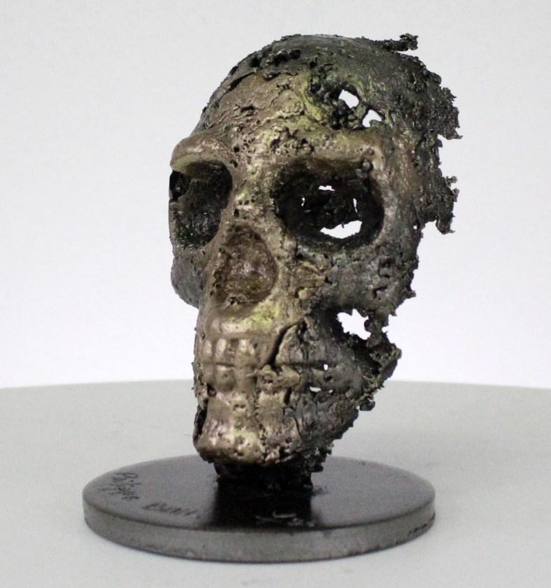 62-21-Crane-Vanité-Sculpture-tete-de-mort-acier-bronze-Vanite-art-Skull-artwork-steel-metal-Buil-3