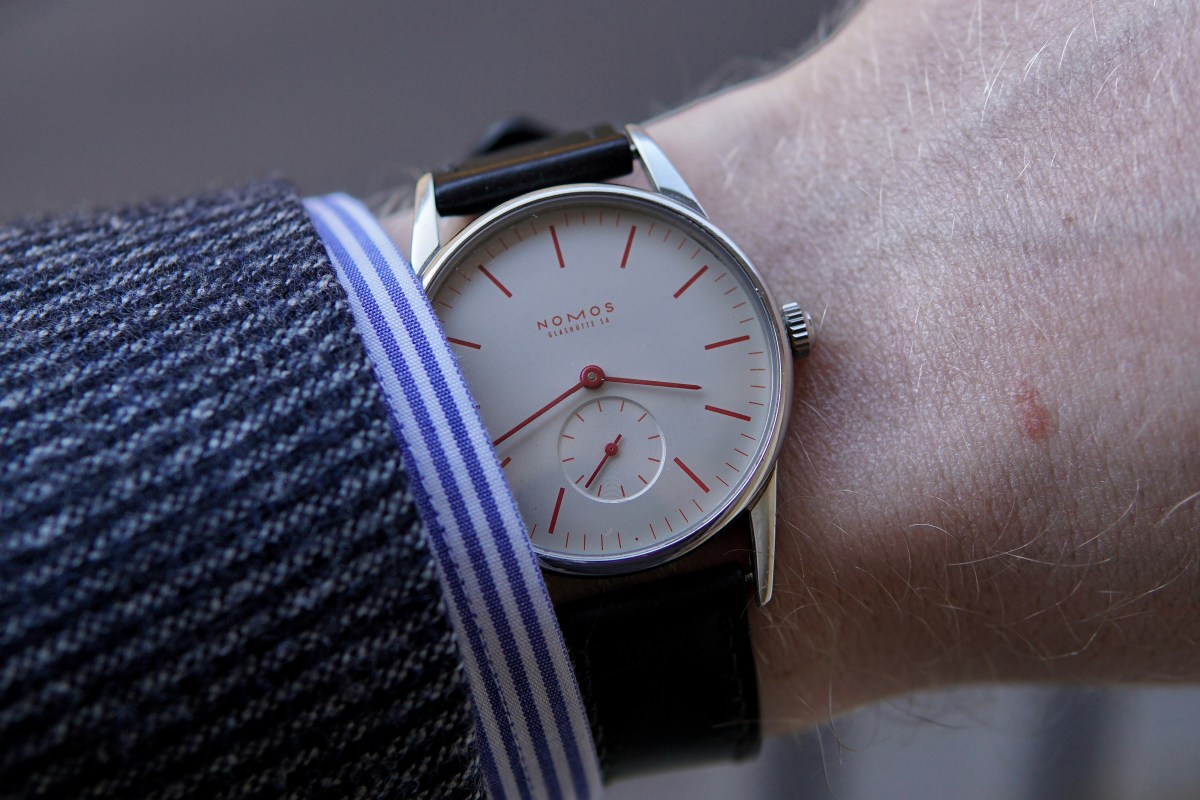 Nomos Orion 35 Valentine's Day Edition