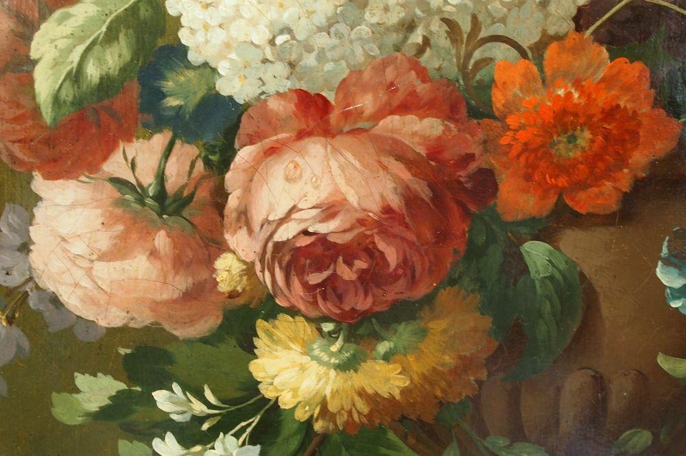 Paire De Tableaux Reprsentant Des Fleurs