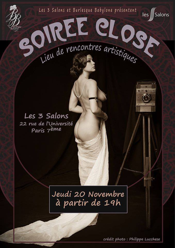 expo soiree close à paris