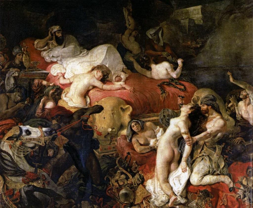 2-la-mort-de-sardanapale-eugene-delacroix-1827