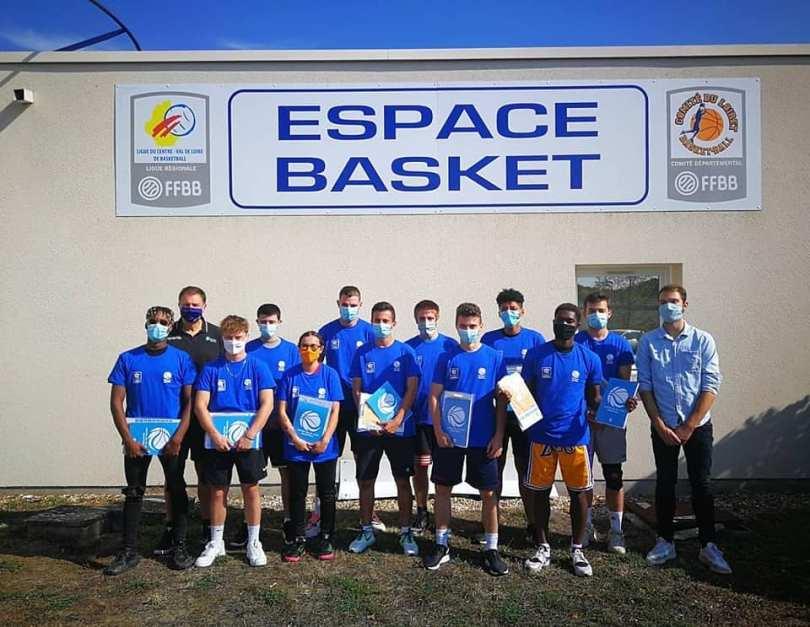 Étudiants BPJEPS Basket 2ème année, 2020/2021
