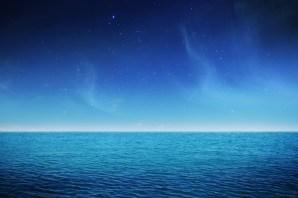 Lagon sous les étoiles