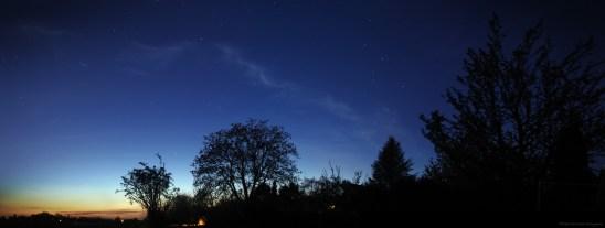 Cassiopée au crépuscule