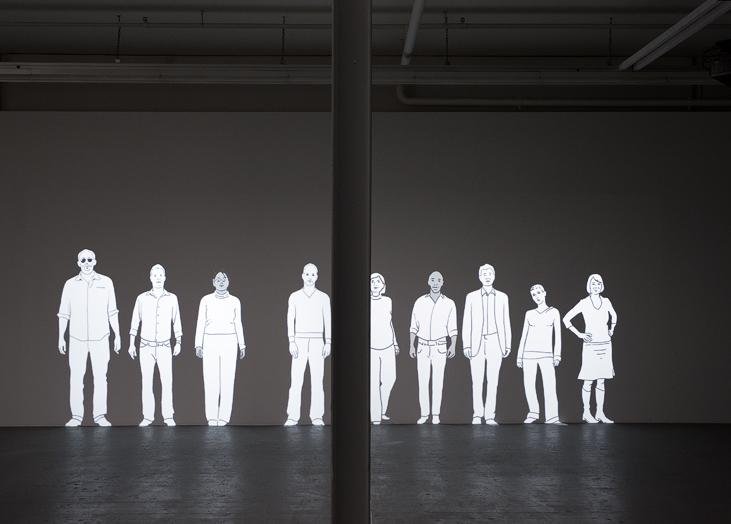 Ein Kommen und Gehen, Video Installation, Philipp Gasser
