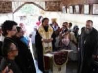 Bishop Sergey at the Parish of St John of Shanghai and San Francisco.