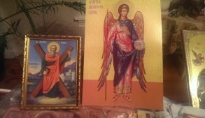 icons - St Andrew, Gabriel