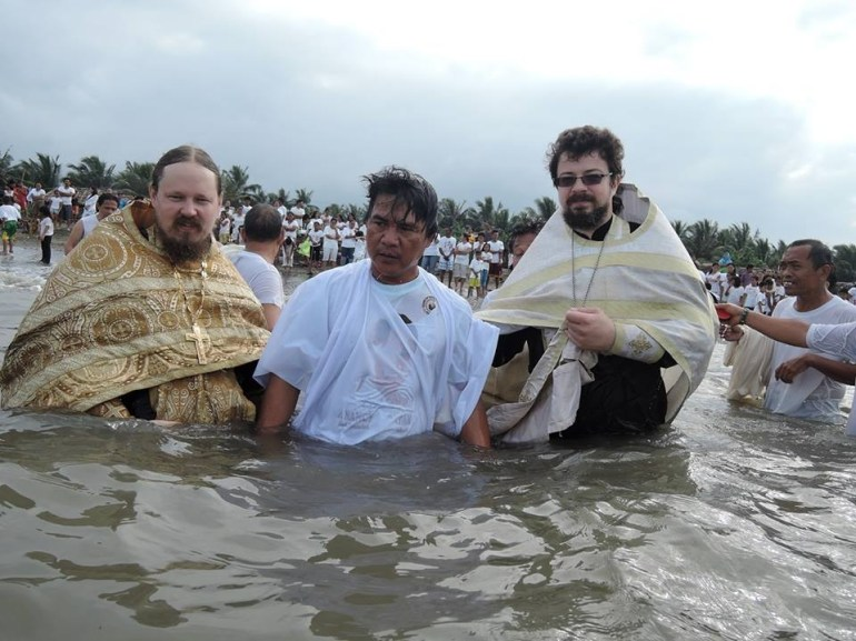 Baptism at Ladol
