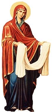 the veil of the Theotokos