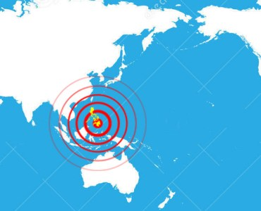 Mindanao earthquake map