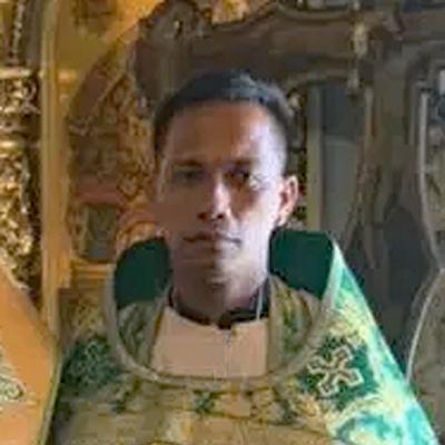 Priest Joachim Gonzales