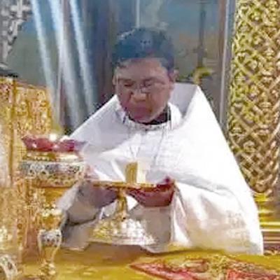 Priest Romanos Buniel