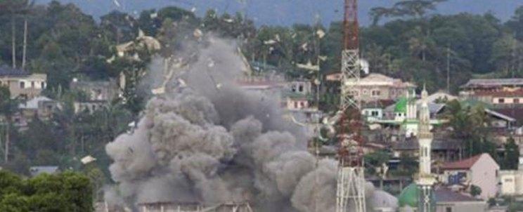 Marawi butning