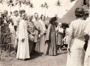 Saint John and clergy on Tubabao