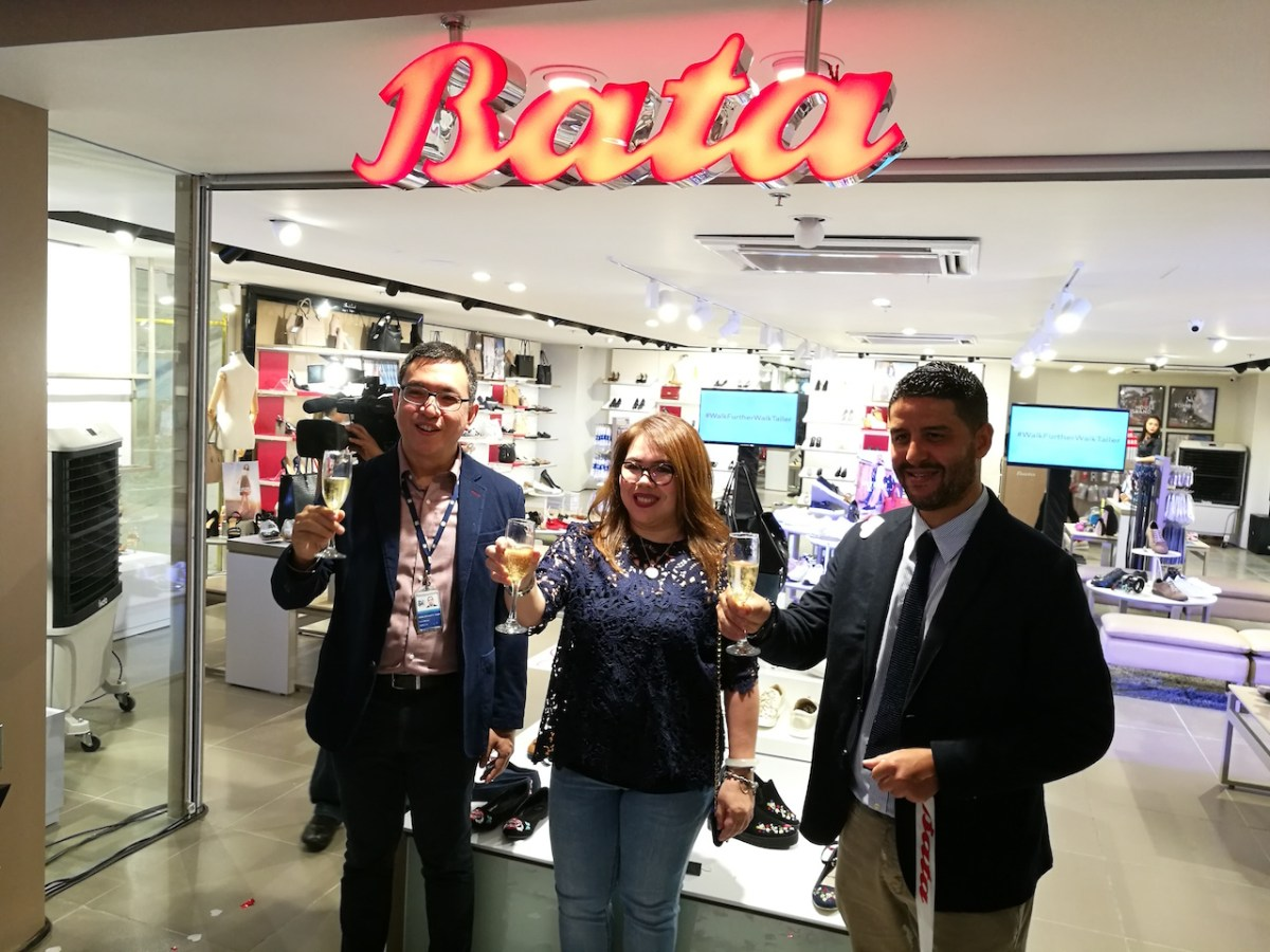 Bata Philippines opens its 3rd store in SM Makati and launches Bata Insolia heels