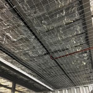 Retardant vents on ceiling