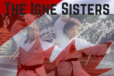 Winnipeg mother issues urgent appeal to help daughters go to Ireland for world karate championships