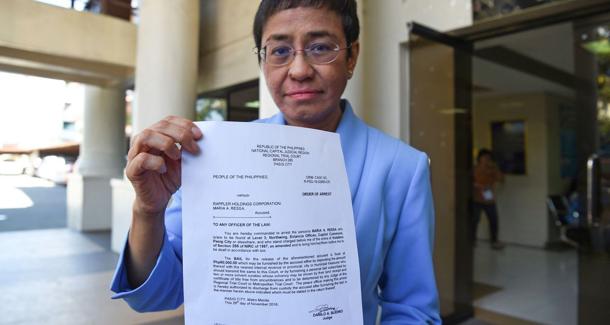 Drop charges against Rappler's Maria Ressa: Carlos Conde